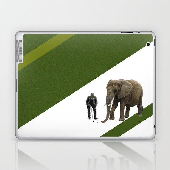the elefant's 19th hole Laptop & iPad Skin