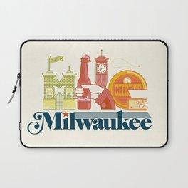 MKE ~ Milwaukee, WI Laptop Sleeve