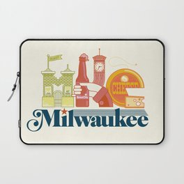 MKE ~ Milwaukee, WI Laptop Sleeve