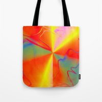 carnival Tote Bags featuring Carnival by Awesome Palette