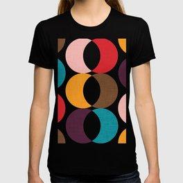 Mid Century Modern Circles T-shirt