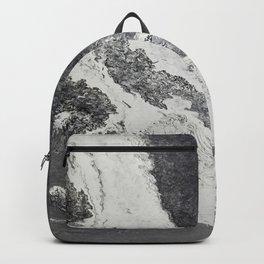 Silver Foam Backpack