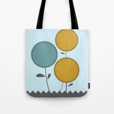 Country Flora Tote Bag