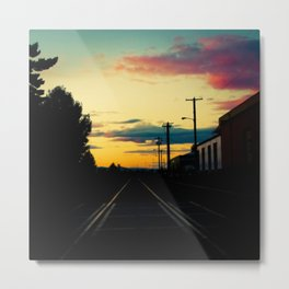 Expression (October Sunset in Portland, OR) Metal Print