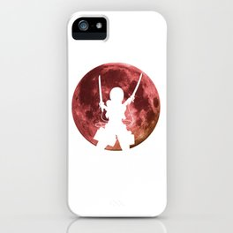 Anime Moon Inspired Shirt iPhone Case