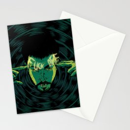 Mind-control powers in good use Stationery Cards
