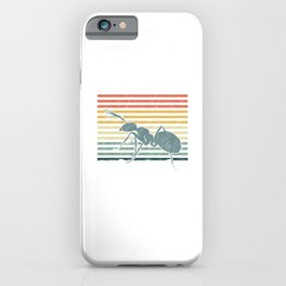 Ant Vintage Swasp Bees Carpenter Ants Insects Animal Nature Lovers Gift iPhone Case