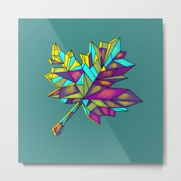Razor leaf Metal Print