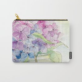 Hydrangea, Still Life Carry-All Pouch