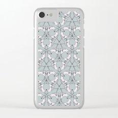 Cat Kaleidoscope Clear iPhone Case