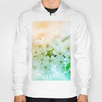 cherry blossom Hoodies featuring cherry blossom by Marika Kleinhesseling