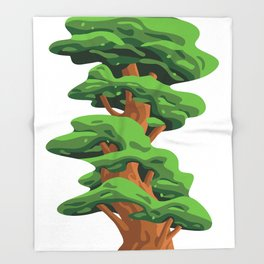 Unlocking Growth Throw Blanket