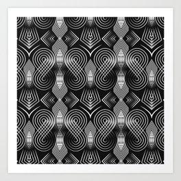 Art Deco. Diva 27 . Art Print