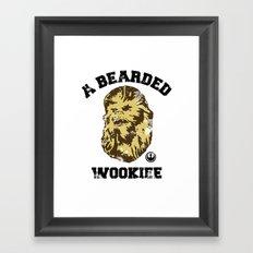 A Bearded Wookiee Framed Art Print