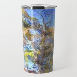 Sleepy Hollow Autumn Art Travel Mug