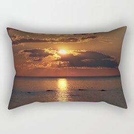 Beauty over the Sea Rectangular Pillow
