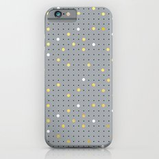 Pin Points Grey, Gold and White iPhone 6s Slim Case
