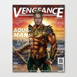 The king of Atlantis Canvas Print