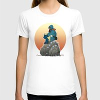 nausicaa T-shirts featuring Nausicaa & baby Ohmu taking a break... by kamonkey