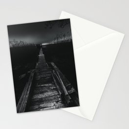 On the wrong side of the lake 2 Stationery Cards
