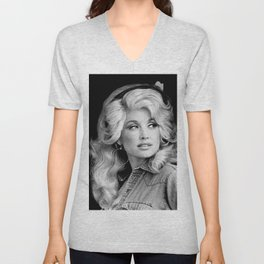 young dolly original parton 2020 Unisex V-Neck