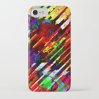 stripe iPhone & iPod Cases featuring stripe by barmalisiRTB