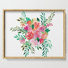 Happy Bouquet Serving Tray