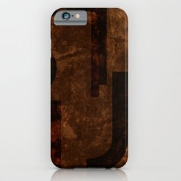 Stout Beer Typography iPhone Case
