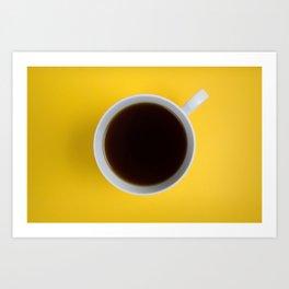 Coffee Cup Art Print