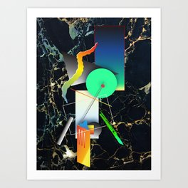 Future Future Art Print