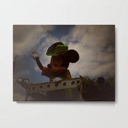 Animal Kingdom Mickey Mouse Metal Print