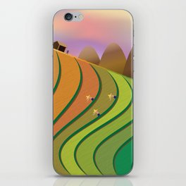 Terrace Fields iPhone Skin