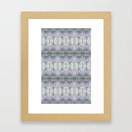 Arabidopsis flower stem microscopy cell pattern Framed Art Print