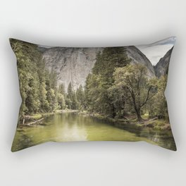 One of the wine-cellar caves at the Schramsberg Vineyard winery in Californias Napa Valley Rectangular Pillow