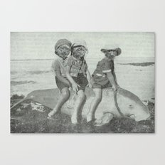 Monkey Manatee  Canvas Print
