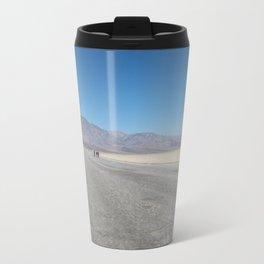Below Sea level at Bad Water Basin Travel Mug