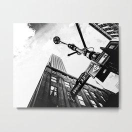 West 33rd street Metal Print