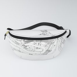 a motorcycle Fanny Pack