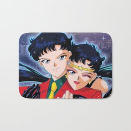 Seiya VS Sailor Starfighter Bath Mat
