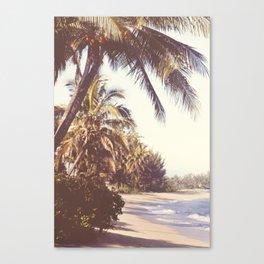 Hawaiian Palms Canvas Print