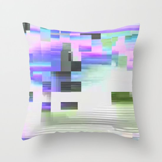 scrmbmosh30x4b Throw Pillow