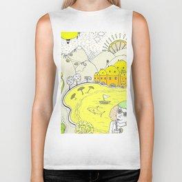 Lemon paradise Biker Tank