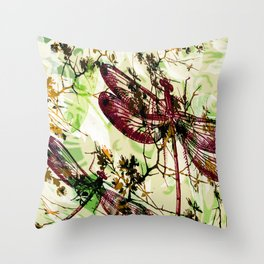 Leaves 101 Throw Pillow