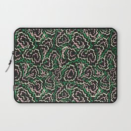 Zig Zag Abstract Geometric Pattern Laptop Sleeve