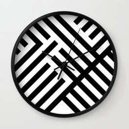 Perp and Par Wall Clock