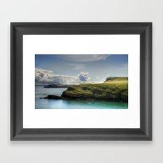 Skomer Island Framed Art Print