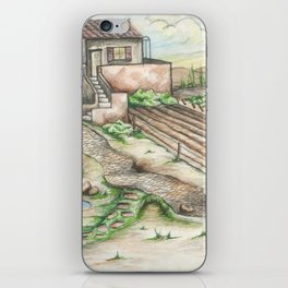 Italian Wine Country iPhone Skin