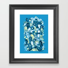 Under my bed Framed Art Print