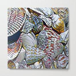 Seashell Significance Metal Print