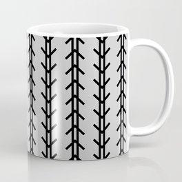 Boho Arrows Never Fail - Light Gray Coffee Mug
